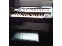 Yamaha Electone HC-2 Organ and stool. Great condition. Barely used.