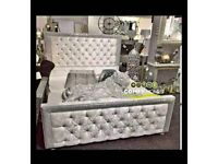 New sleigh beds for sale cheap prices best quality free delivery