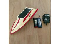 Vintage rc boat project