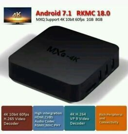NEW MXQ-4K LATEST ANDROID. TV BOX SMART