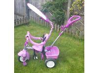 Pink/Purple Little Tiles 4 in 1 Trike
