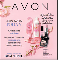 Join Avon today for Free !!!