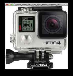 GoPro4 Silver, box opened but camera not used