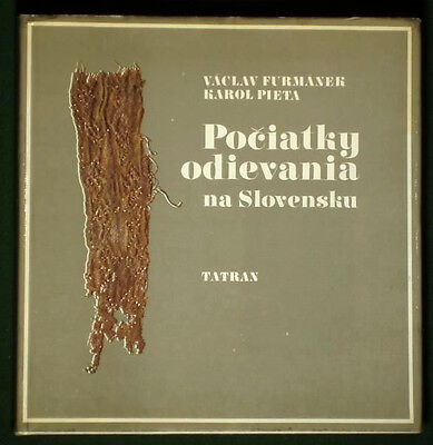 BOOK Ancient Slovak Clothing fashion history archaeology jewelry early cloth art