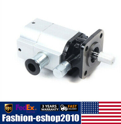 16 Gpm Hydraulic Log Splitter Pump Hi Lo Gear Pump 3000psi 2 Stage 12 Shaft