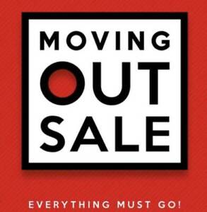 Moving out sale part 2, Household items and furniture