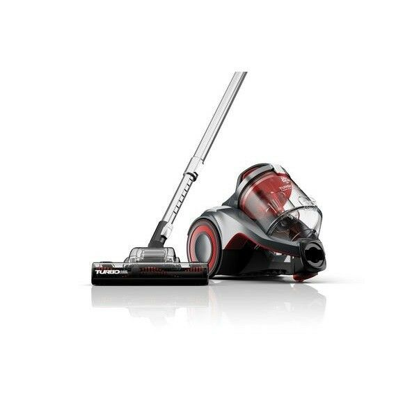 Dirt Devil Turbo Clean Carpet & Hard Floor Cyclonic Canister