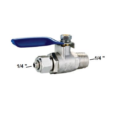 """Absperrventil Kugelhahn Ventil 1/4""""  Wasseranschluss Osmose Wasserfilter Anlage"""