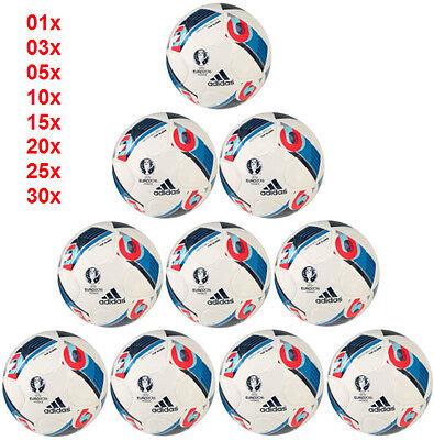 ADIDAS BEAU JEU EURO 2016 TOP GLIDER TRAININGSBALL FUSSBÄLLE BALLPAKET EURO16 (Euro Glider Fußball-ball)