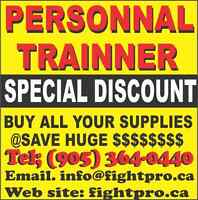 TRAINING SUPPLIES, SPECIAL PRICES 4 PERSONAL TRAINNER,