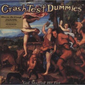 LP gebruikt - Crash Test Dummies - God Shuffled His Feet