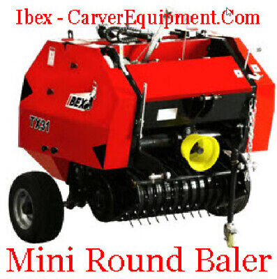 Heavy Equipment Attachments - Round Baler
