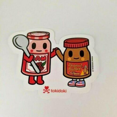 tokidoki sticker - PB Boy and Berry Jamz