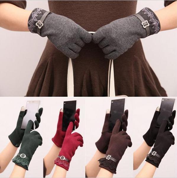Knit Elegant TouchScreen Gloves Soft Winter Women Texting Ac
