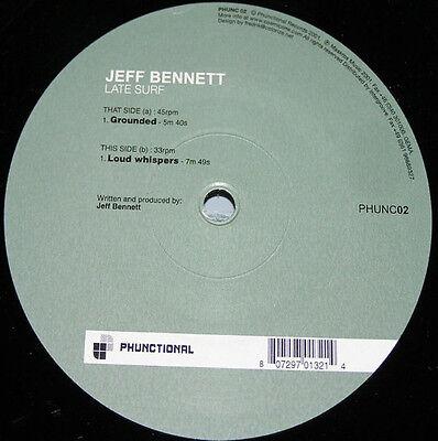"Jeff Bennett – Late Surf VG+ Phunctional Phunc 02 VINYL 12"" TECH-HOUSE"