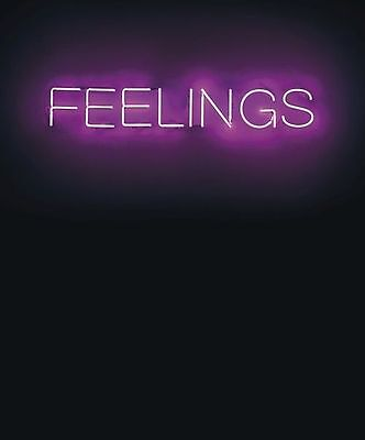 """New Feelings Home Bar Wall Decor Neon Sign 14""""x6"""" Fast Free Shipping"""