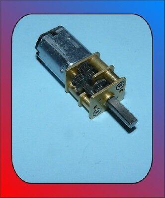 Motor DC / 12 Volt / 2 - 19 rpm Kirmes Faller 12Volt Getriebemotor 12V