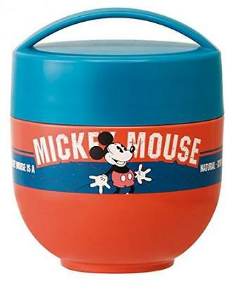 Disney Mickey Mouse warm cold bowl lunch jar 540ml LDNC6