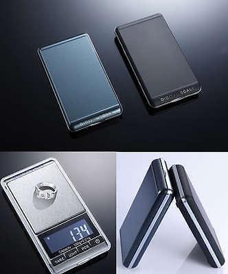7Unit 0.01/100g Mini Portable Digital Jewelry Balance Weight Pocket Scale LCD US