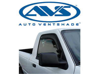AVS 92083 In-Channel Window Ventvisors 2-Piece 93-11 Ford Ranger & Mazda Pickup