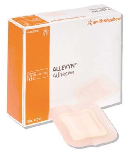 Foam Dressing Allevyn 5 X 5 Inch Square Adhesive with Border Sterile Each/1