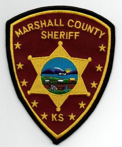 KANSAS KS MARSHALL COUNTY SHERIFF NEW PATCH POLICE