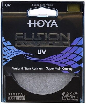Hoya 72mm Fusion Anti-static 9 Layer Super Multi Coated Uv Ultra Violet Filter