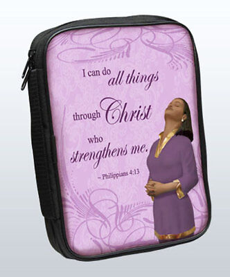 Bible Cover: I Can Do All Things Through Christ Who Strengthens Philippians 4:13