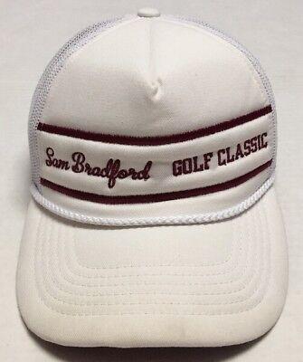 Sam Bradford Golf Classic Trucker Hat St Jude Childrens Research Hospital Cap