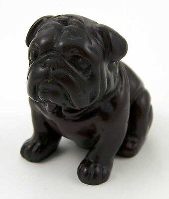 BRITISH BULLDOG ORNAMENT SOLID / HEAVY CAST / 3 INCH HIGH BULL DOG / BOXED