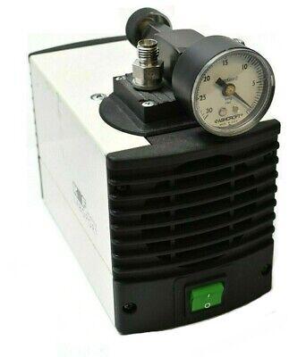 Knf Mpu 1010-n86-11.98 Vacuum Pump With Hg 35psi Gauge