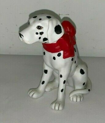 DALMATION DOG FIGURINE (Unmarked,4-1/2 Inches Tall)
