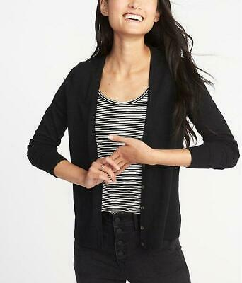 NWT Women's Old Navy Button Down Cardigan Sweater Black S M L NEW