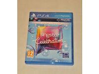 SONY PLAYSTATION PS4 GAME SINGSTAR CELEBRATION PAL 12 PLAYLINK BRITNEY CALVIN AB