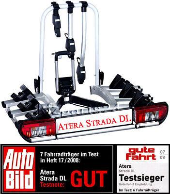 ATERA Strada DL 3 - AHK Heckträger für 3 Fahrräder - Art.Nr. 022601