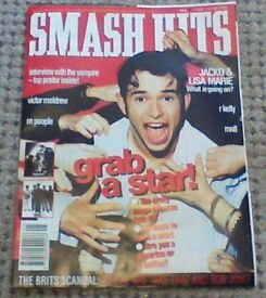 smash hits magazines