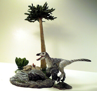"6040: Beasts of the Mesozoic Mountain Environment Pack w/ 6"" dinosaur Figure"