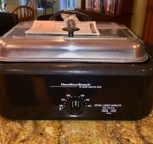 Hamilton Beach Roaster Oven with Buffet warmer/server