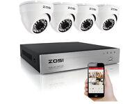 Full HD 1080p CCTV system - brand new