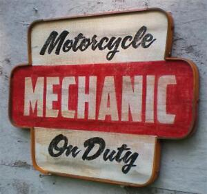 Off-Road Motorcycle Repair and Service Work