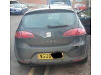 Seat Leon Rear Bumper Breaking For Parts (2006)