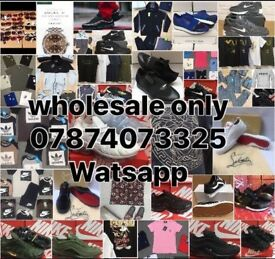 WHOLESALE TRAINERS TRACKSUITS TSHIRTS POLOS