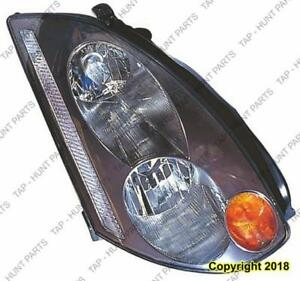 Head Lamp Passenger Side Xenon High Quality Infiniti G35 COUPE 2003-2005