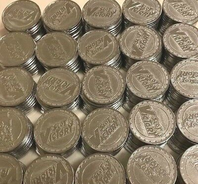 """250 MATCHING SLOT VICTORY PACHISLO SLOT MACHINE TOKENS 984""""/25MM TUMBLE CLEANED, used for sale  North Olmsted"""