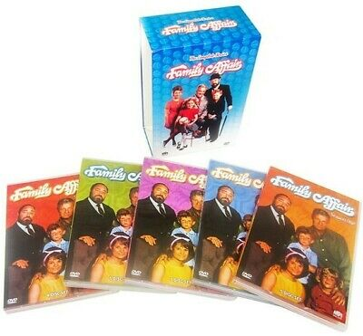 Family Affair: The Complete Series (DVD,27-Disc, Seasons 1-5) US Seller New!
