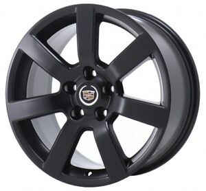 Cadillac ATS XTS Wheel Touch Up Paint Satin Flat Matte Black