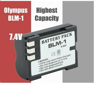 Battery BLM-1 BLM1 Olympus EVOLT E520 E-520 C-5060 C5060 C7070 C-7070 C8080