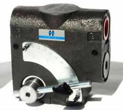 Hydraulic Pressure Compensated Adjustable Flow Control Valve 1/2