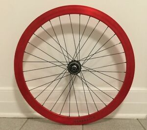 700c REAR Wheel  VELOCITY B43 - Seule Vitesse - Single Speed