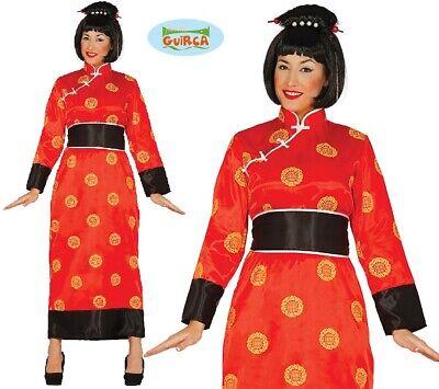 Damen Chinesisch Orientalisch Kostüm Kimono Typ Geisha Outfit - Oriental Chinese Kostüm